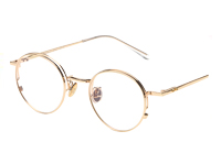Gold framed glasses