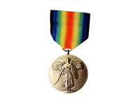 Inter allied victory medal