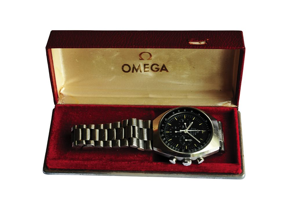 Men's boxed watch