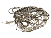 Mixed silver chains