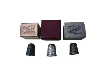 Silver plated thimbles