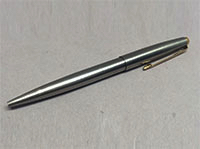 A stainless steel Parker 95.