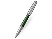 A khaki Parker Urban fountain pen.