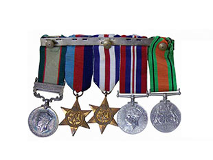 A photo of medals